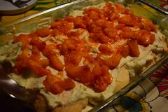Peach Tiramisu (jjldickinson) Tags: food cooking fruit dessert peach longbeach tiramisu wrigley nikond3300 promaster52mmdigitalhdprotectionfilter 100d3300 nikon1855mmf3556gvriiafsdxnikkor