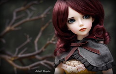 Sanguine (pure_embers) Tags: new uk portrait tree girl ball photography photo doll dolls profile stock cape bjd resin pure joint embers sanguine minifee mirwen minifeemirwen pureembers emberssanguine