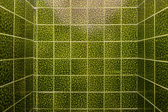 Art Center Toilet (pni) Tags: color colour green wall suomi finland tile pattern interior surface artcenter skrubu pni joutsa pekkanikrus taidekeskus haihatus