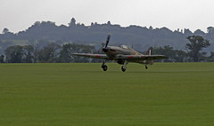 Hawker Hurricane (Hawkeye2011) Tags: uk aircraft aviation hurricane airshow raf hawker 2014 royalairforce rafduxford