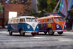 A Pair of Campers (Jainbow) Tags: vw garden deckchair gift present van camper decking fstop veedub campervans jainbow