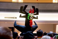 Aku (Courtarro) Tags: atlanta building television hotel cosplay event aku dragoncon samuraijack marriottmarquis dragoncon2014