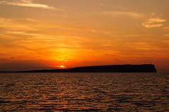 Puesta de sol. Menorca (Beln M P) Tags: menorca septiembre2014