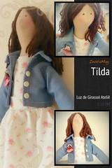 Tilda Primavera (Luz de Girassol Ateli) Tags: de bonecas pano tildas
