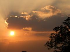 Sunset (mike_j's photos) Tags: sunset shadow cloud barnetby