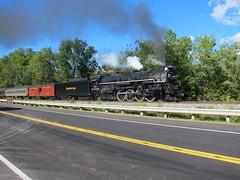 765 Boston Mills 30 (Fan-T) Tags: road ohio boston engine plate steam nickel mills 2014 nkp 765 steaminthevalley 765deeplock