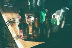Budweiser (Laura-Lynn Petrick) Tags: musician music beer rock 35mmfilm series drumming budweiser kingofbeers lauralynnpetrick lauralynnpetrickbudweiser bottlesofbudweiser budweiserlife 35mmfil