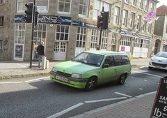 1990 Vauxhall Astra. (RUSTDREAMER.) Tags: cornwall 1990 astra vauxhall bangernomics rustdreamer