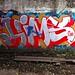 Battery Steele (1942) – new graffiti (Fall 2014)