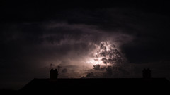 Apocalyptic (DanRSmith) Tags: sky cloud storm stormy lightning hastings