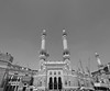 king abdul aziz gate 1 (azahar photography) Tags: mosque arab saudi saudiarabia masjid minarets makkah masjidilharam