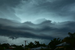 Hail storm (Images by Jeff - from the sea) Tags: nikon d7200 sky storm clouds green tamronsp2470mmf28divcusd palmtrees lightning hail 1000v40f