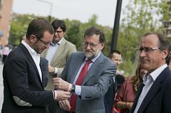 Mariano Rajoy, clausura el mitin de cierre de campaa del PP vasco (Partido Popular) Tags: rajoy marianorajoy alfonsoalonso javiermaroto pp partidopopular elecciones 25s vitoria eleccionespasvasco