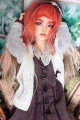 Strawberry Narae 406 (Emerald_Fairy) Tags: strawberry doll dollphotography narae bjd bimong msd narae406 faceup