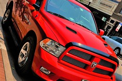 Chicago Dodge Ram 1500 red (christoph `s world) Tags: chicago dodge ram 1500 car picup truck color tuning