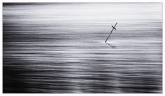 Loch Ard cross (davidmccrone) Tags: monochrome black white lochard trossachs scotland kinlochard water longexposure lee superstopper