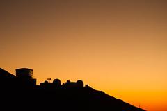 Haleakala Sunset (brodrock) Tags: sunset silhouette haleakala maui observatory astronomy telescope