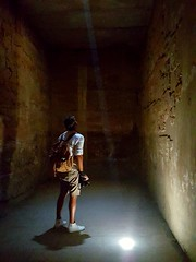 Mystery in Egypt (HypoX) Tags: egypt luxor templekarnak ancient backpacker ray light