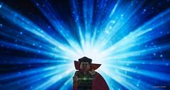 Doctor Strange (bricklegowars) Tags: marvel lumix lego legophotography magical magic sparkle eye agamotto sorcerer supreme doctor strange