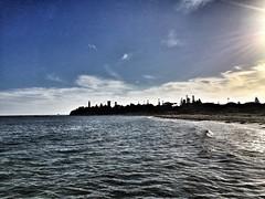 Queenscliff (nick_ciantar) Tags: beach sunset victoria new south wales australia sydney melbourne queenscliff point lonsdale lighthouse sun sand city harbour bridge trees cliffs water lights dish stars mountains blue pier mcg opera house parkes clouds