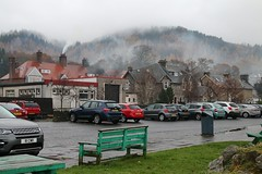 2016 - 13.11.16 Aberfoyle (7) (marie137) Tags: aberfoyle marie137 scotland mist mountain hill town water country