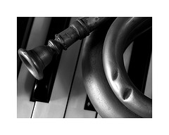 5-brass and piano (Roberto Gramignoli) Tags: blackandwite bw musica music jazz strumentimusicali fiati ottoni piano brass musicintruments intruments tastiera