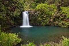 Pua'a Ka'a Falls on the Road to Hana, Maui, HI (vincestamey) Tags: maui hana roadtohana waterfall waterfalls paradise vincestamey swim waterhole hawaii