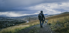Hunt, Capture. (vanessa.smith) Tags: walk hike rain rainyday camera cannon road city sky clouds cloudy blue adventure lifestyle wanderlust photographer montana missoula 365project mountains backpack