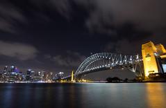 SHB from Kirribilli (PhilliB123) Tags: canon 600d t3i sydney city harbour kirribilli mrs macquaries chair nsw australia skyline cityscape night images tokina 1116mm