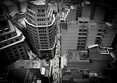 Downtown - on YBS 2016 (Marcos Jerlich) Tags: downtown cityscape blackwhite contrast bw windows urban city saopaulo brazil lightroom canont5i canon canonflickraward flickr flickrbestpics november marcosjerlich yourbestshot2016 ybs2016