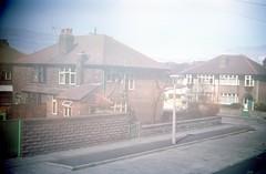 img229 (foundin_a_attic) Tags: april 1973 street houses homes fashion eveyday life england suburbs garden
