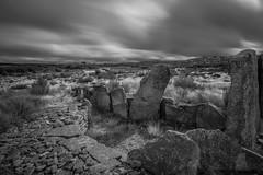 Prehistorical (Artur Tomaz Photography) Tags: bw clouds le moimentadabeira prehistoric sky blackandwhite historical longexposition mono monochrome orcadasseixas stones history nature