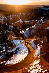 Morning (GavinZ) Tags: brycecanyon nationalpark usa utah morning sunrise people walking sunrisepoint landscape path