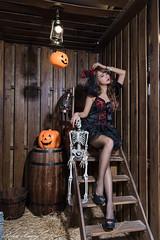 DSC_7437 (Robin Huang 35) Tags: 孫卉彤 candy miruna萬聖風 小惡魔 吸血鬼 vampire 萬聖節 halloween 棚拍 lady girl d810 nikon devil