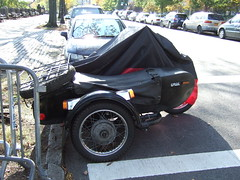 looks like a camera, right? (Nesster) Tags: motorchyle sidecar morningside heights nyc ural imz