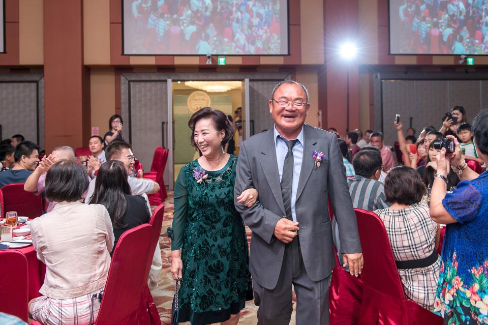 台南婚攝 婚禮紀錄 情定婚宴城堡 C & M 119