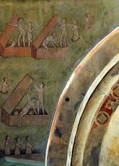 Tuscania - Santa Maria Maggiore 1 (anto_gal) Tags: lazio viterbo tuscania 2015 chiesa romanico santamariamaggiore affresco giudiziouniversale