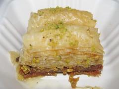 Pistachio Baklava from Park Gyros (Pest15) Tags: nationalbaklavaday baklava pistachiobaklava treat pastry layers textures
