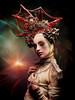 Cult (acahaya) Tags: girl alien cult sacrifice headpiece strange artificialblood olympus em12