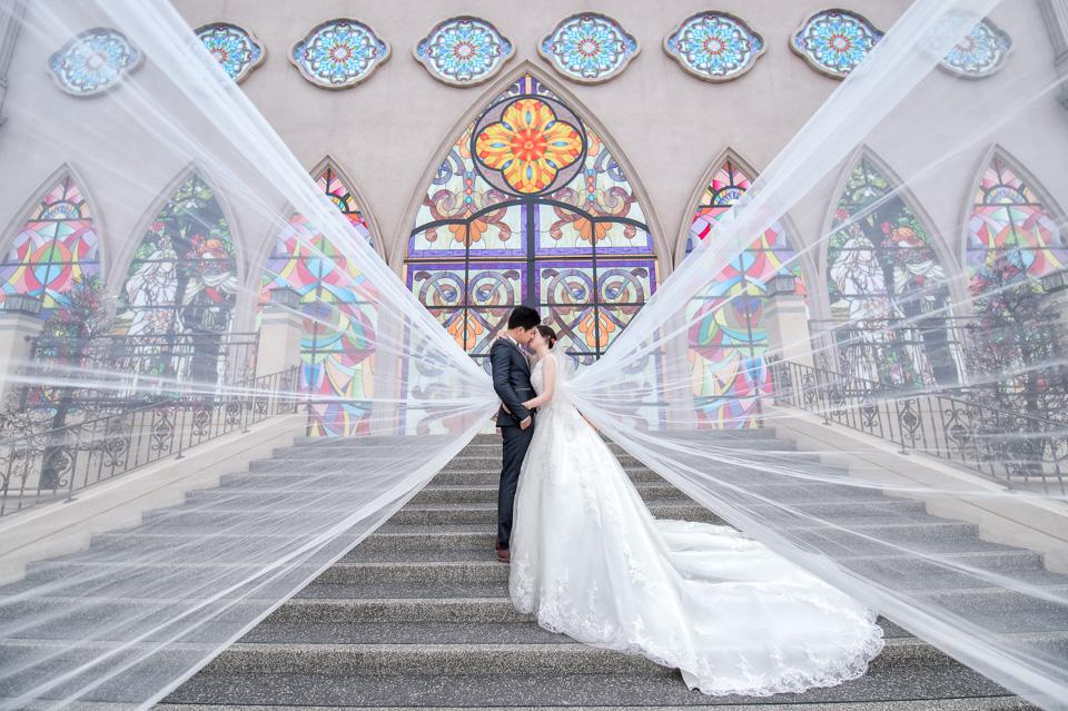 台南婚攝 婚禮紀錄 情定婚宴城堡 C & M 001