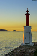 Luz lateral (MaryPazSL) Tags: mar cantabrico puestadesol ria asturias