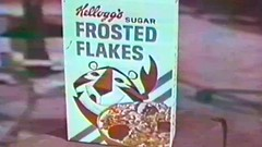 1967 - Commercial - Kellogg's Sugar Frosted Flakes - Tony The Tiger from Hollywood! (VideoArcheology) Tags: videoarcheology 1967 commercial kelloggs sugar frosted flakes tony the tiger from hollywood