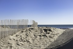 Fence Shadows (uselessbay) Tags: 2016 beach middletown nikon nikond700 places rhodeisland secondbeach uselessbayphotography williamtalley d700 fullframe landscapes uselessbay water
