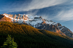 Dawn Mountain (paul_malen) Tags: albertacanada jaspernationalpark banffnationalpark canadianrockies