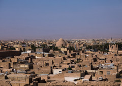 View from the narin qal'eh citadel, Yazd province, Meybod, Iran (Eric Lafforgue) Tags: 0people ancient architectural architecture bricks building city colorimage copyspace day dome historic historical horizontal iran islamic maibud meybod middleeast mudbrick narin narinqal'eh nopeople nobody old orient outdoors persia persian photography qaleh silkroad structure tourism touristic travel urban yazdprovince ir