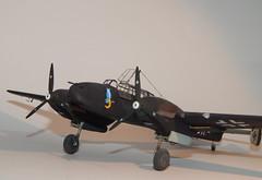 Bf110 (3) (mcjaffa) Tags: messerschmitt bf110 me110 eduard 7081 scalemodel 172 profipack bf100cd l1dh 1jnjg3