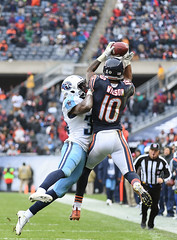 The last minute catch (Q Win) Tags: pro november outdoors titans bears sports action nfl football sunday soldierfield chicago il unitedstates usa