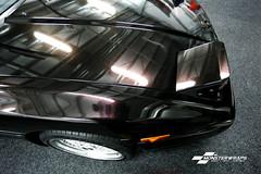 Toyota Supra mk1 Gloss Ember black (Sean at Monsterwraps Ltd) Tags: toyota supra jap jdm monsterwraps wrap wrapped wrapping ceramicpro ceramicprolight ember black gloss