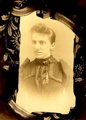 In Memoriam (~ Lone Wadi Archives ~) Tags: cabinetcard mourningcard memoriam lostphoto foundphoto mysterious unknown portrait retro 1890s 19thcentury victorian death memorial mtcarmelpennsylvania