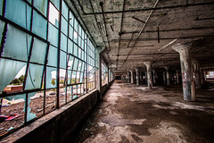 Who Lives Here? (Thomas Hawk) Tags: albertkahn detroit fisher fisherbody fisherbodyplant fisherplant fisherplant21 gm generalmotors michigan waynecounty abandoned autofactory automobilefactory fav10 fav25 fav50